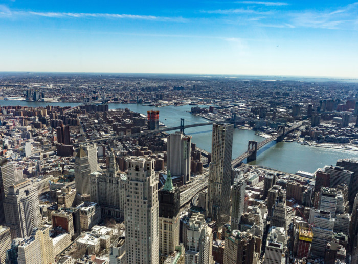 best view of The Brooklyn Bridge new york