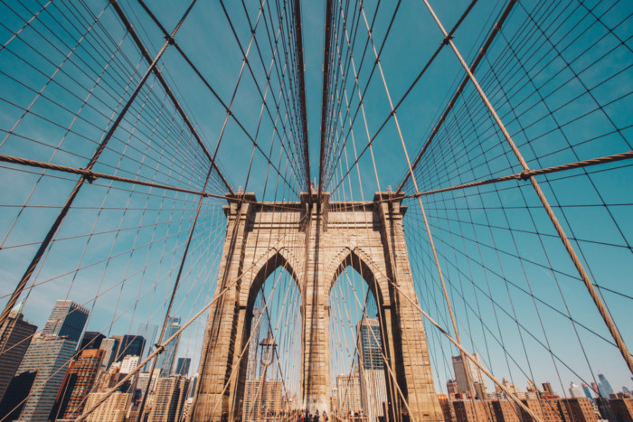best view of The Brooklyn Bridge nyc