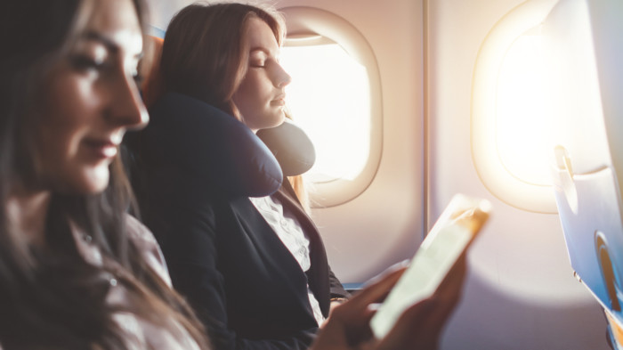 how to sleep on a long haul flight