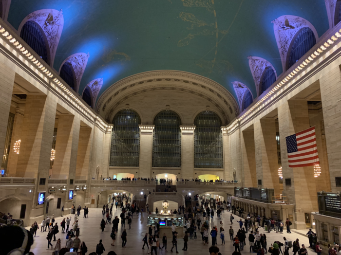 places to see in walking distance of Grand Central Station?