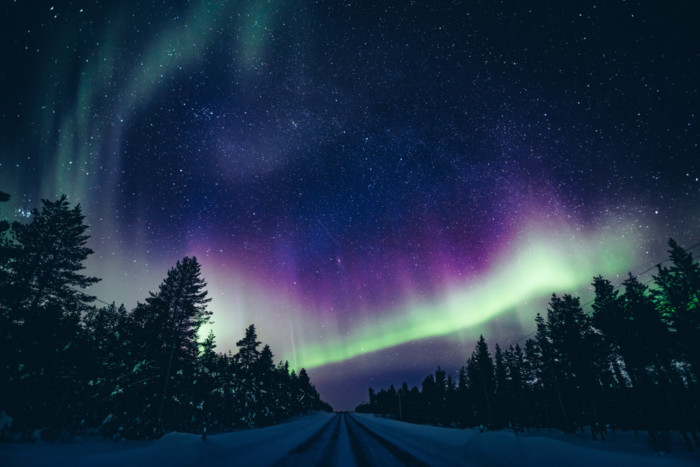 the best place to see Aurora Borealis