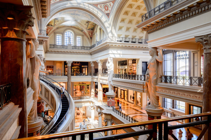the best shopping malls in Las Vegas