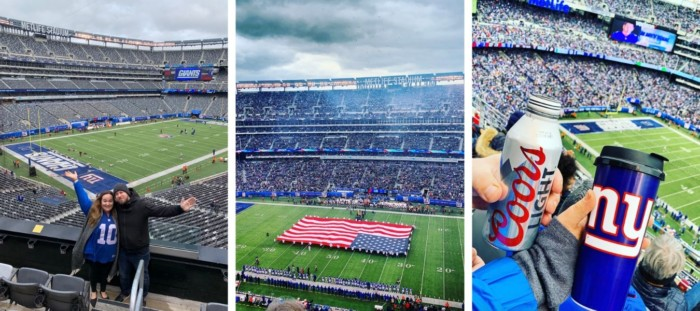 NY giants places to visit in new york