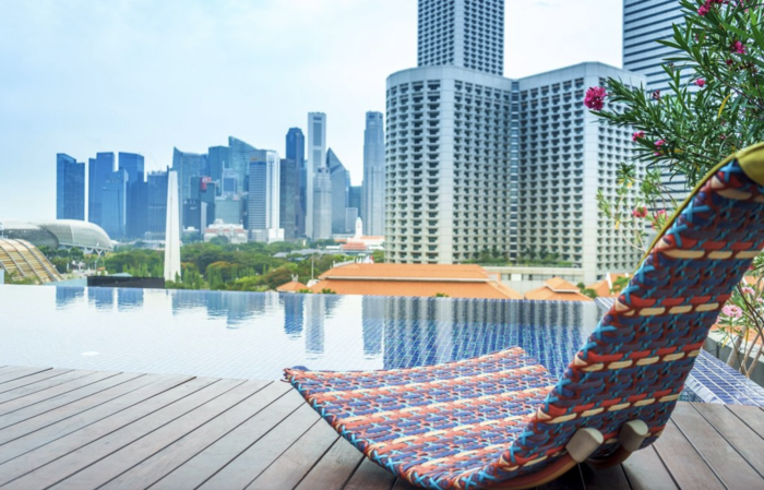 the best infinity pools in singapore