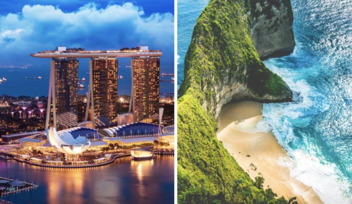 Singapore to Bali