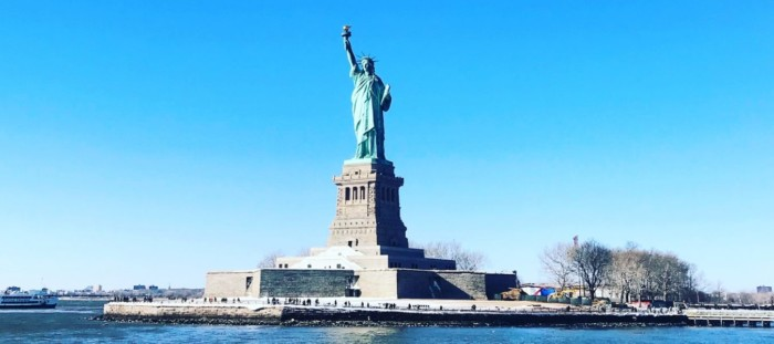 Statue of liberty places to visit in new york city