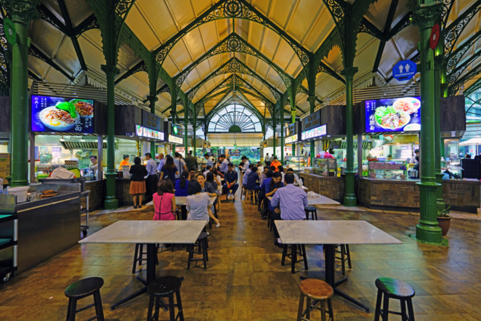 a guide to hawker food in Singapore