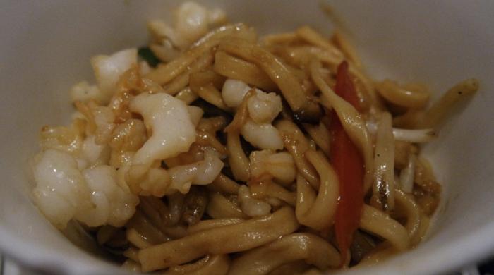 best place for Singapore noodles.