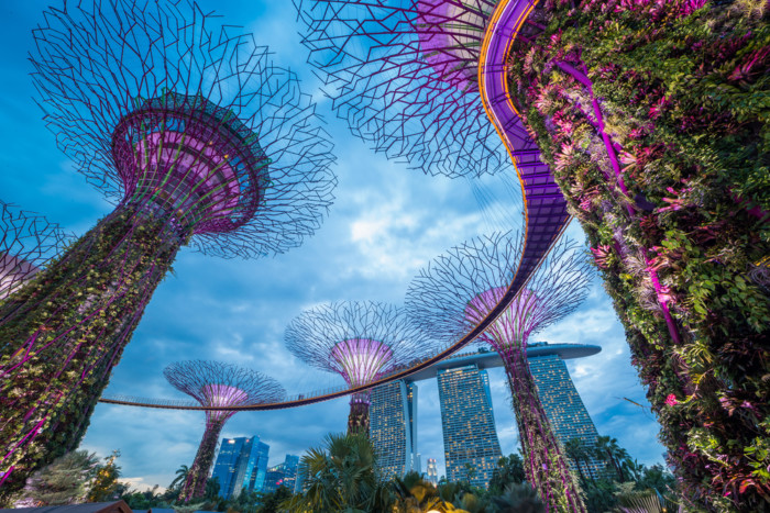 best places to see singapore skyline