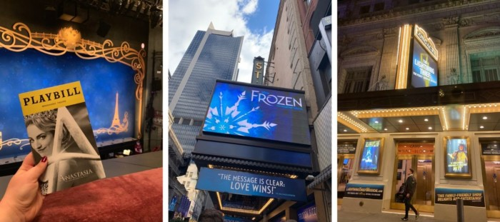 broadway shows places to visit in new york