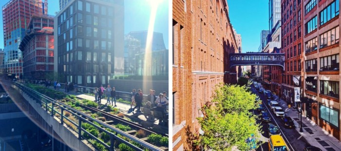 places to visit in new york the high line