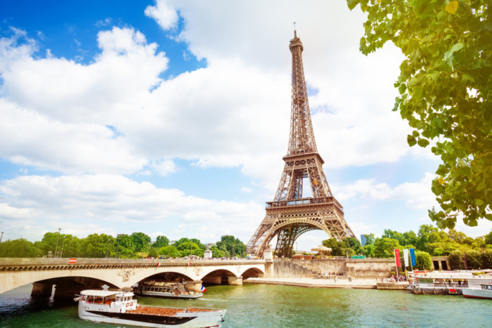 scenic places in paris