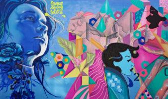 19th Arrondissement street art in paris