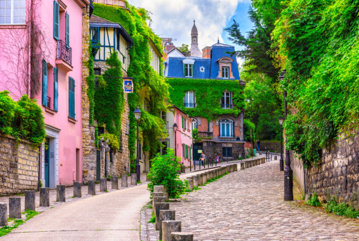 the scenic neighbourhoods in paris