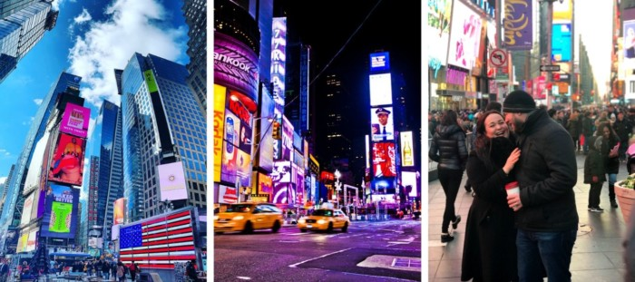 times square places to visit in new york