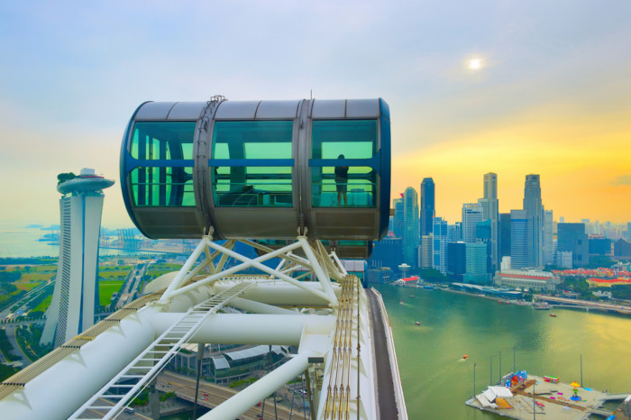 where are the best places to see singapore skyline