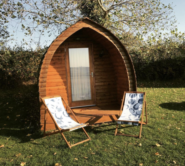 glamping in leamington spa