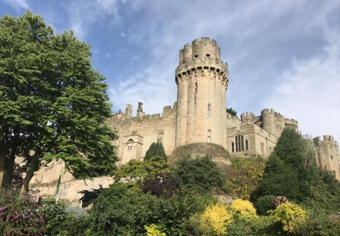 warwick castle near leamington spa