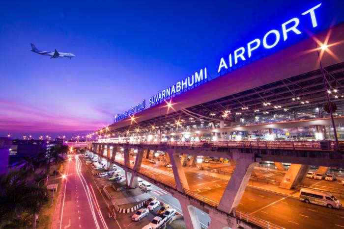 bangkok neighbourhoods airport