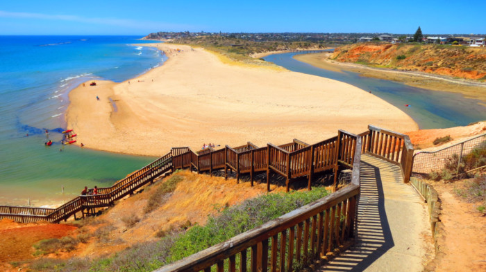 warm places to travel in March Adelaide