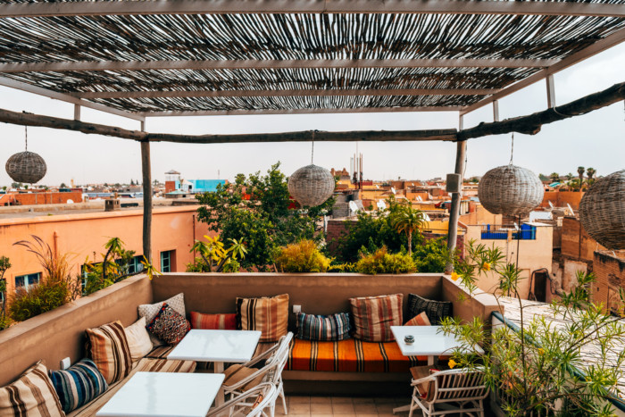 warm places to travel in March marrakech