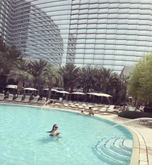 is the aria pool good in las vegas