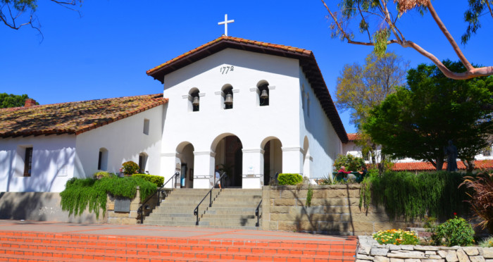 list of californian missions