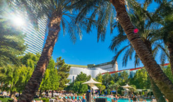 what is the pool like at aria las vegas