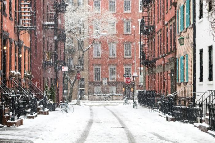 Does it snow in New York in Jan