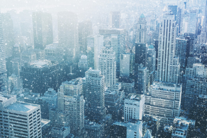 Does it snow in New York in January?