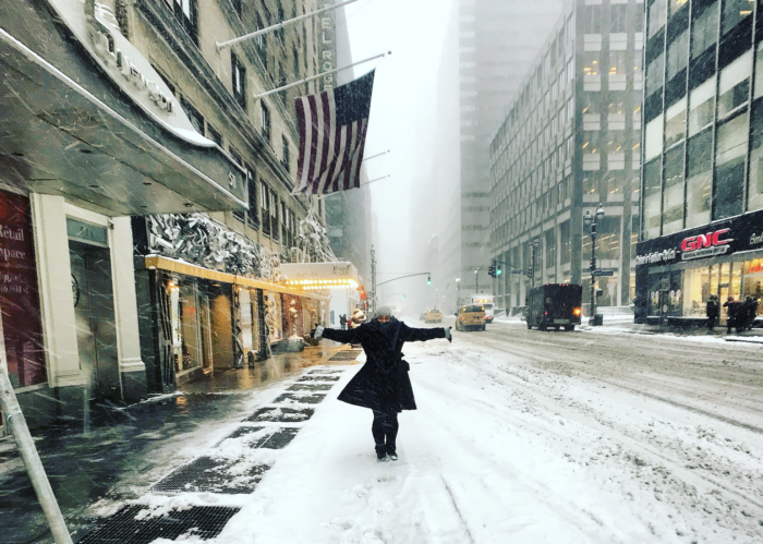 Does it snow in New York in JanuaryDoes it snow in New York in January