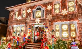 Dyker Heights christmas lights december