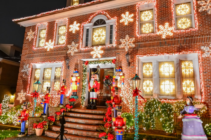 Dyker Heights christmas lights december