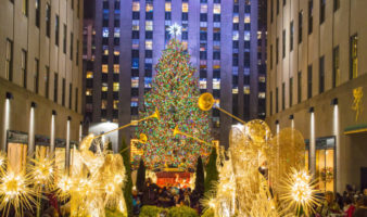 When does Christmas season start in NYC