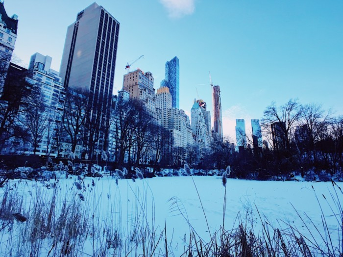 photos of NYC in winter