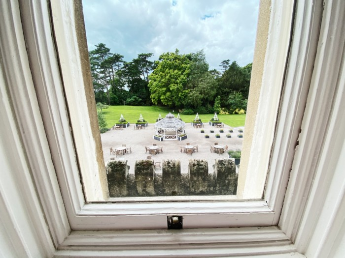 De Vere Tortworth Court view from room