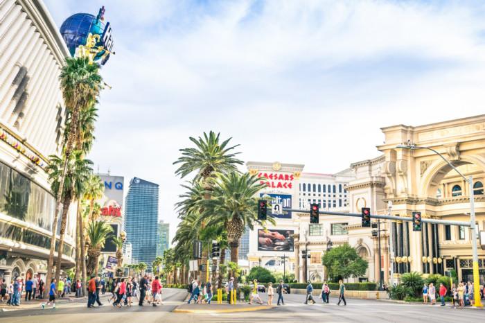 How warm is it in Las Vegas in March