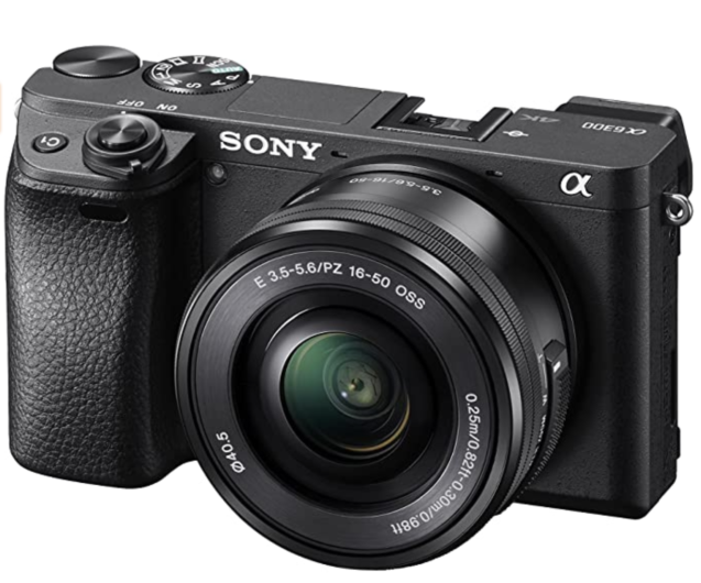 Sony a6300 best cameras for backpacking