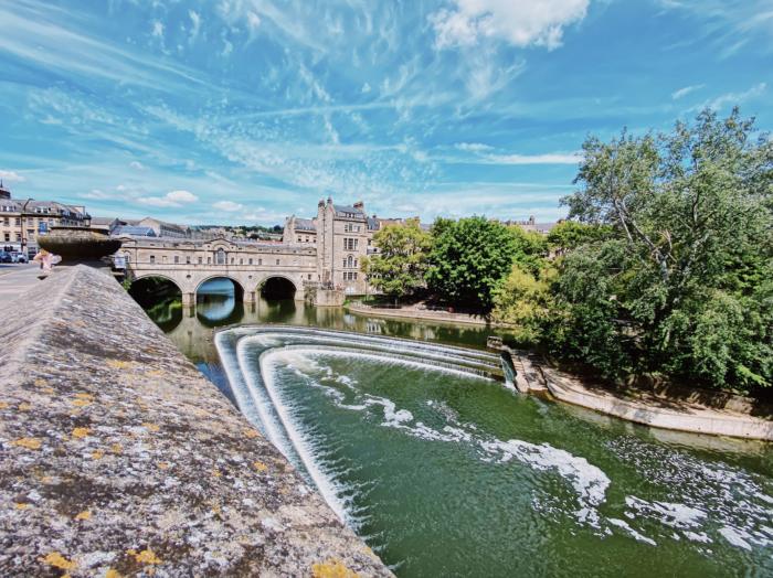 Bath river and bridge