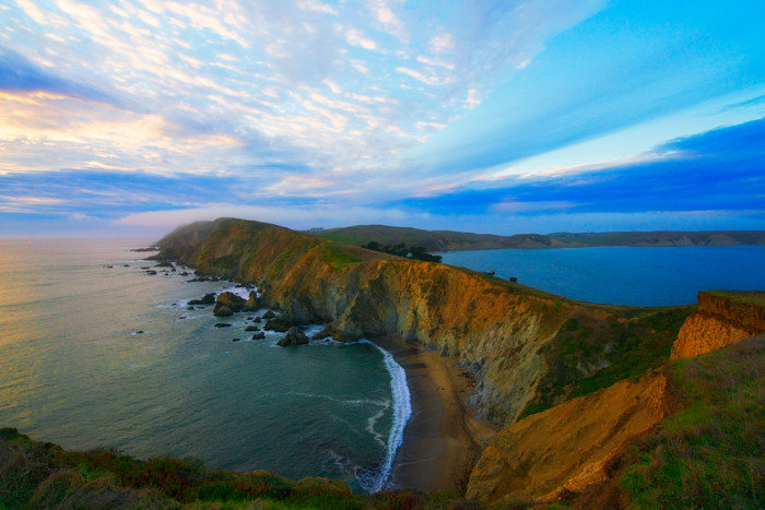 best places for beach camping in California