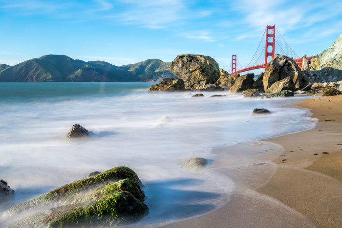 best places to photograph the golden gate bridge marshalls beach