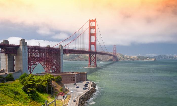 best places to view golden gate bridge