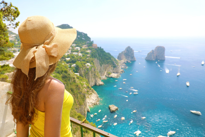 best places to visit in Italy capri