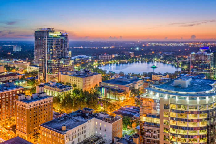 orlando list of best places to retire in Florida