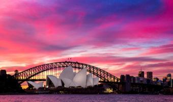 romantic sunsets in sydney