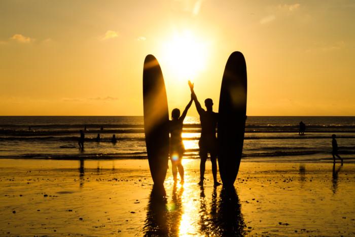 romantic surfing sydney