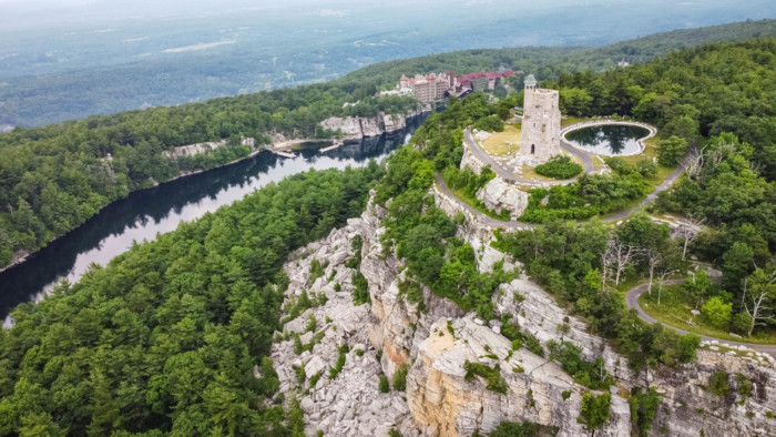 Mohonk Preserve in New Paltz
