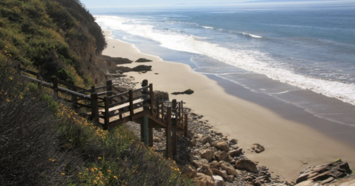 the best places for beach camping in California