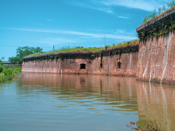 Fort Pike in new orleans USA