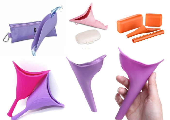 best pee funnels for female travelers & hikers